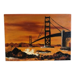 Vintage San Francisco Painting