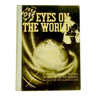 1935 Vintage Eyes on the World Photographic Record For Sale