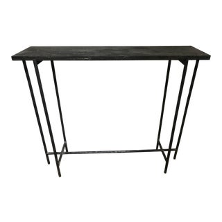 Rustic Classic Home Iron Console Table For Sale