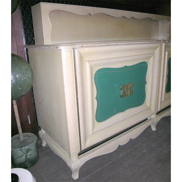 Cottage 1940s Vintage Grosfeld House Buffet For Sale - Image 3 of 8