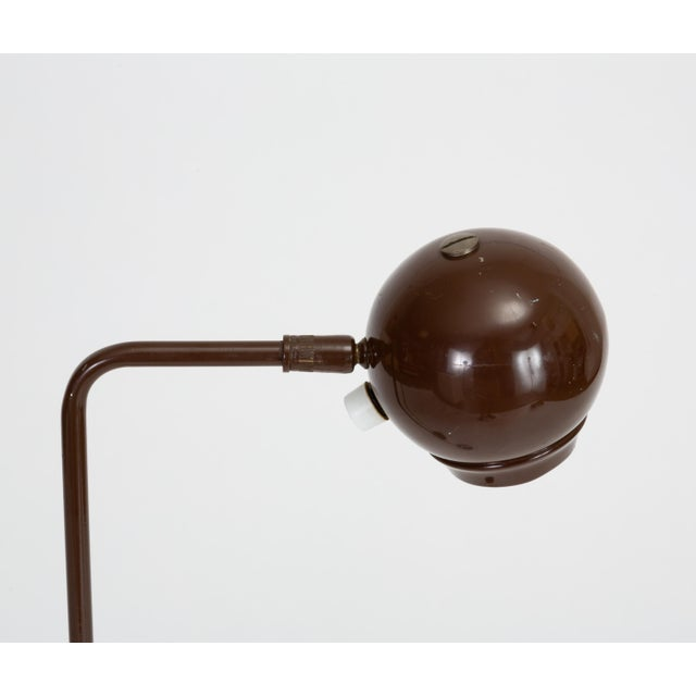 Single Eyeball Floor Lamp by Robert Sonneman for George Kovacs For Sale In Los Angeles - Image 6 of 10