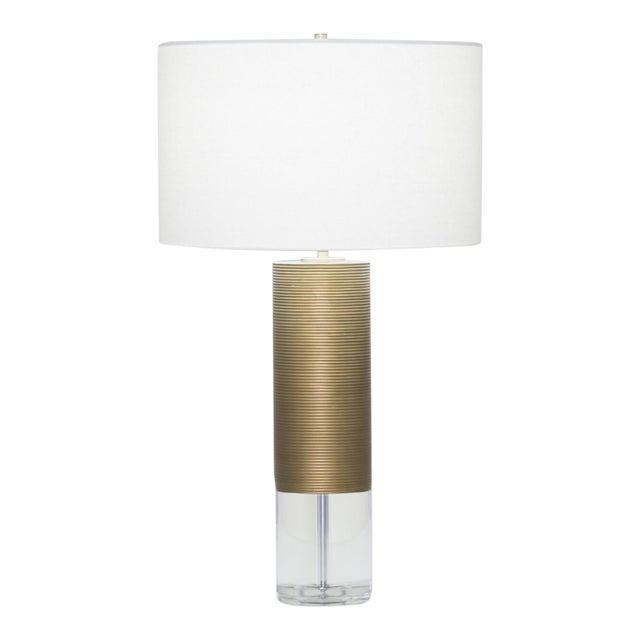 FlowDecor Sage Table Lamp For Sale - Image 4 of 4
