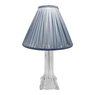 Daum Crystal Vanity Lamp