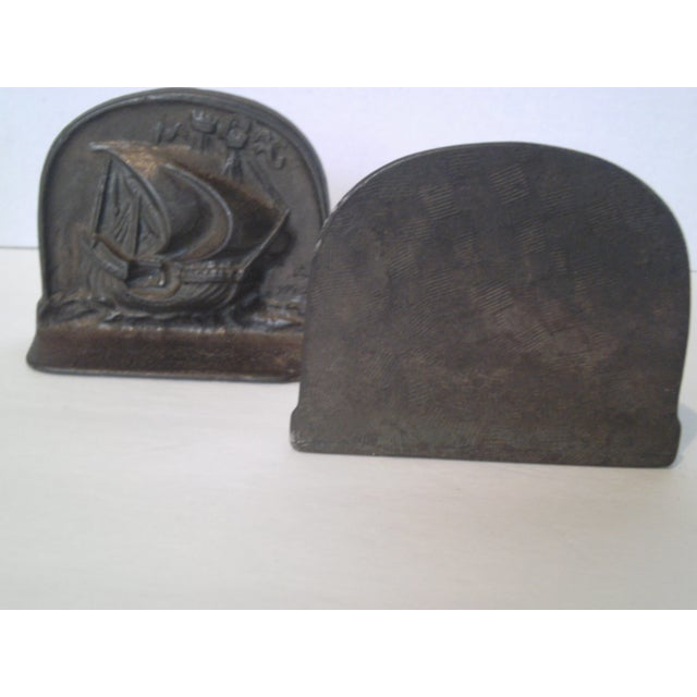 1925 Bradley & Hubbard Iron Bookends- A Pair - Image 5 of 9