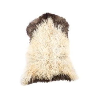 "Contemporary Hand-Tanned Sheepskin Pelt - 2'2""x3'0"" For Sale"