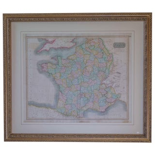 Early 19th Century Map of Revolutionary France With 13 Belgian and Six Piedmont For Sale