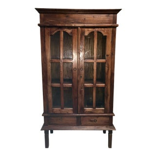 Traditional Wood Cabinet