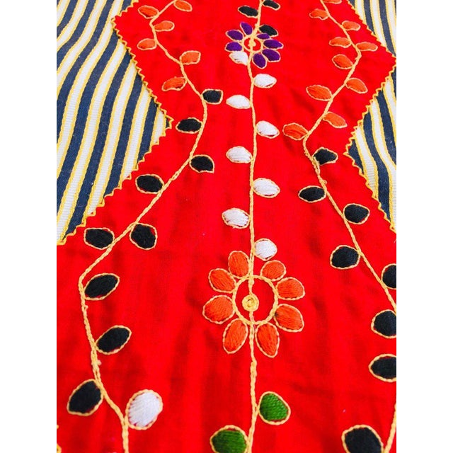 Vintage Middle Eastern Ethnic Caftan, Kaftan Maxi Dress For Sale In Los Angeles - Image 6 of 13
