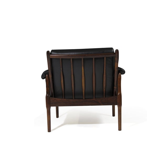 Animal Skin Torbjørn Afdal Rosewood Lounge Chairs - a Pair For Sale - Image 7 of 12