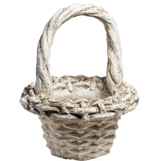 BASKET PLANTER For Sale