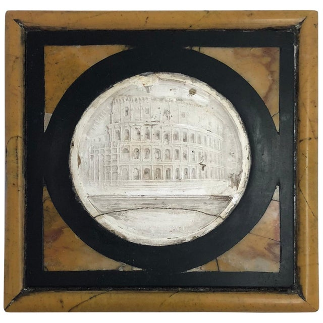 Late 19th Century Late 19th Century Grand Tour Inlaid Specimen Marble Paperweight For Sale - Image 5 of 5