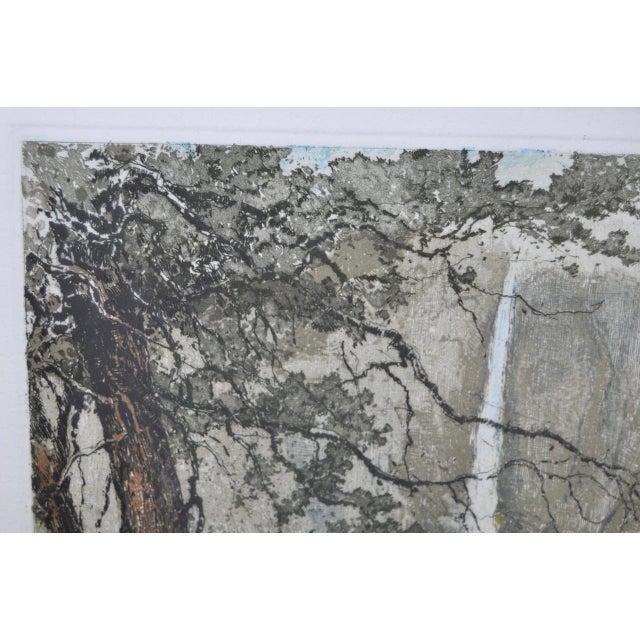 Yosemite Falls Etching by Luigi Kasimir - Image 6 of 10