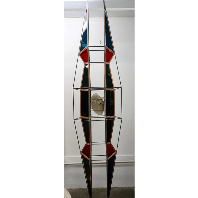 Art Glass 3D Stained Glass Sculpture For Sale - Image 7 of 8
