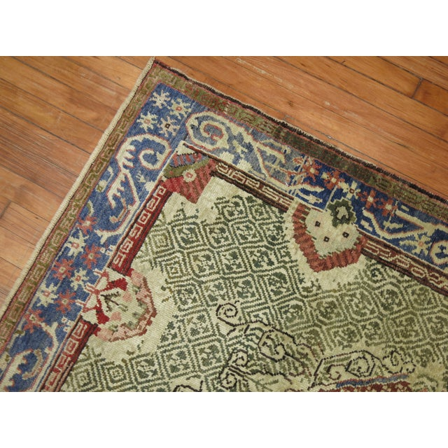 Antique Turkish Ghiordes Rug - 3'6'' x 5'3'' For Sale - Image 5 of 7