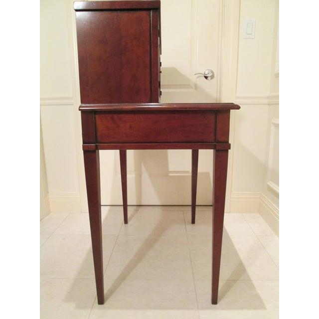 Grange Grange Writing Desk with Curio For Sale - Image 4 of 12