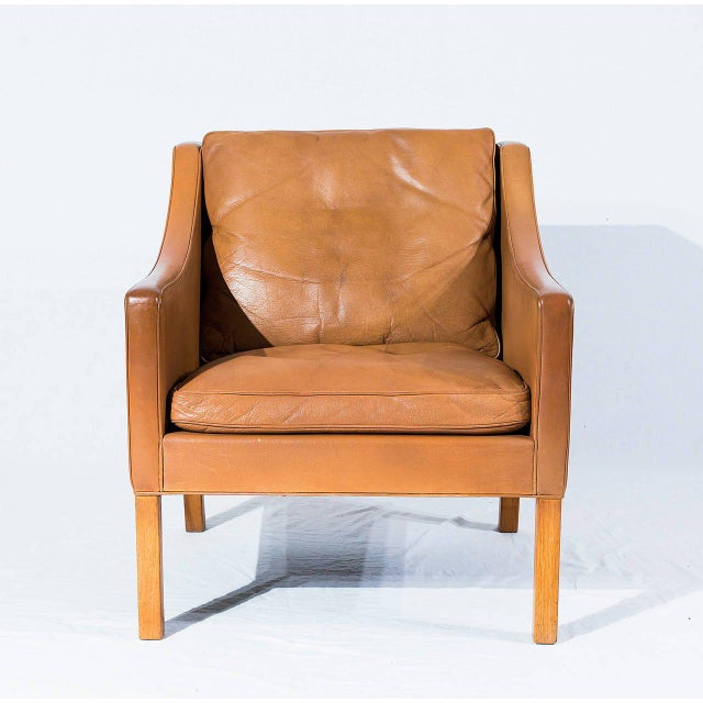 Børge Mogensen Model No. 2207 Leather Lounge Chair - Image 2 of 9