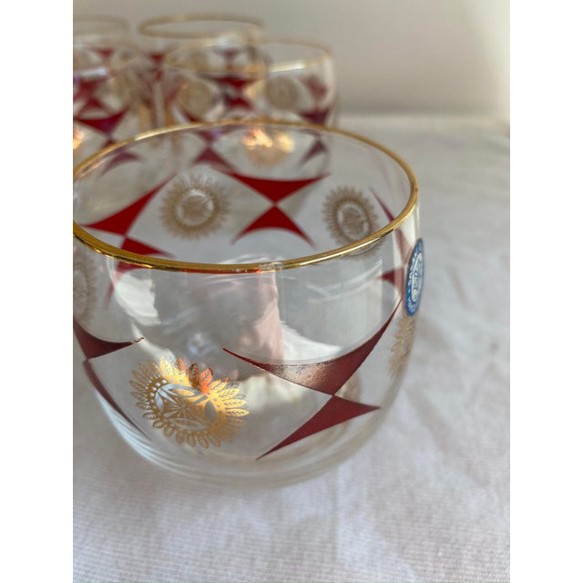 1960s Mid-Century Sasaki Roly Poly Tumbler Glasses - Set of 9 For Sale - Image 9 of 13