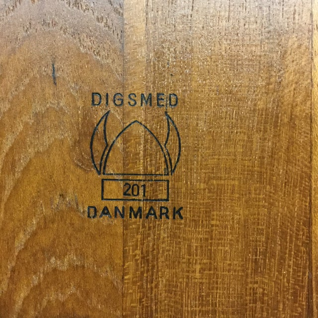 Brown Digsmed Danmark Scandinavian Cheese Board For Sale - Image 8 of 11