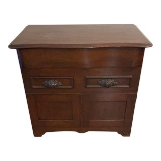 Early 20th Century Victrola Storage Cabinet For Sale