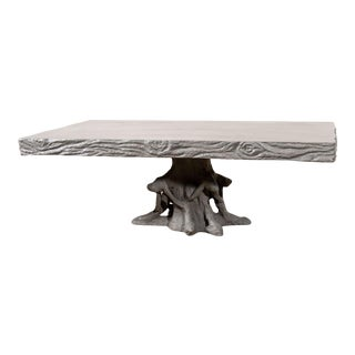 Made Goods Jeffrey Coffee Table in Waxed Gray For Sale