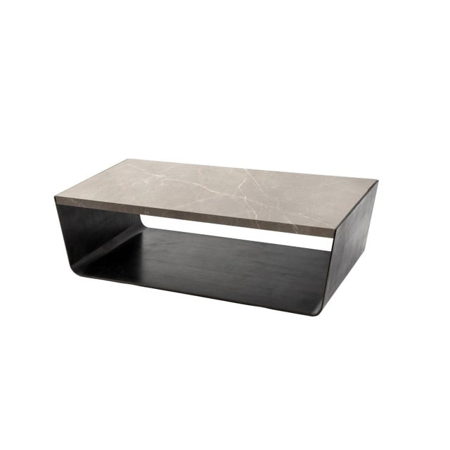 Contemporary Valley Coffee Table For Sale - Image 3 of 3