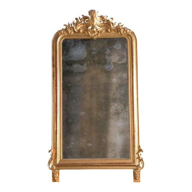Wood Early 19th Century Mirror South of France For Sale - Image 7 of 8