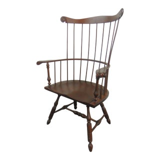 Lancaster County Pennsylvania Cherry Windsor Chair For Sale