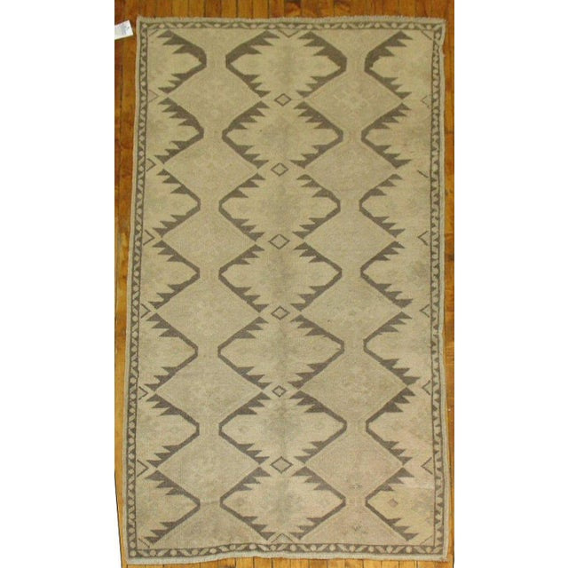 One of a kind tribal style geometric turkish runner at an affordable price.