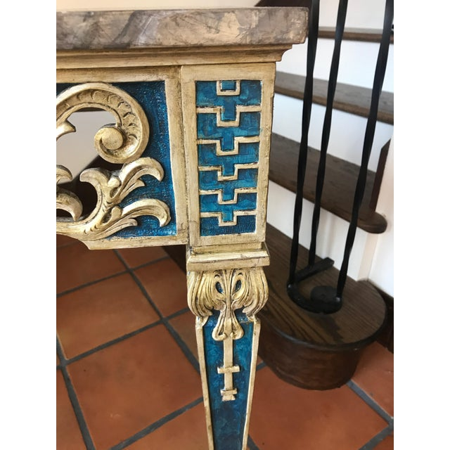 Painted 1920s Console Table - Image 4 of 10