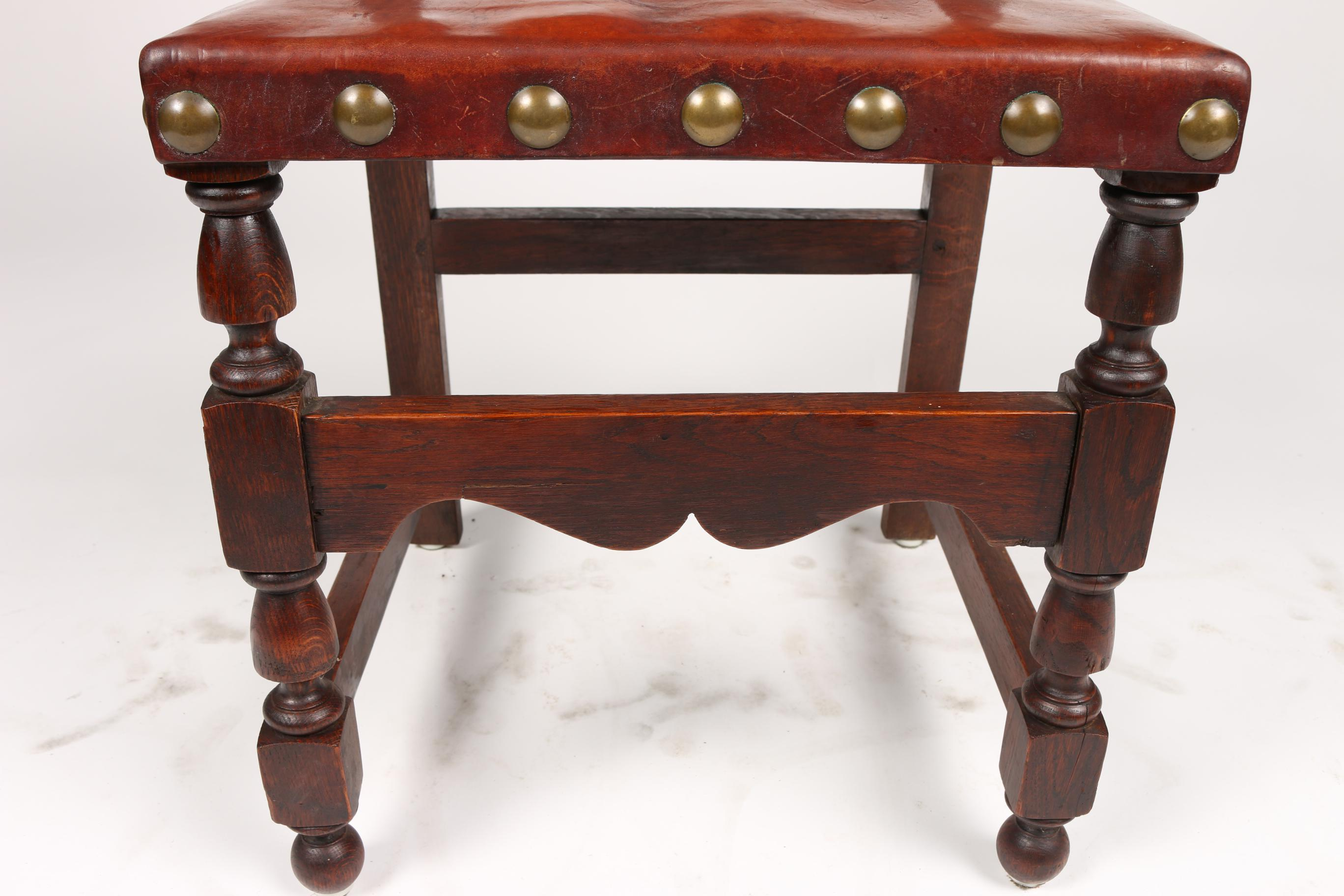 C.1900 Antique Spanish Chairs   A Pair   Image 8 Of 9