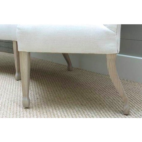 Minimalist Carolina Curved Banquette For Sale - Image 4 of 6