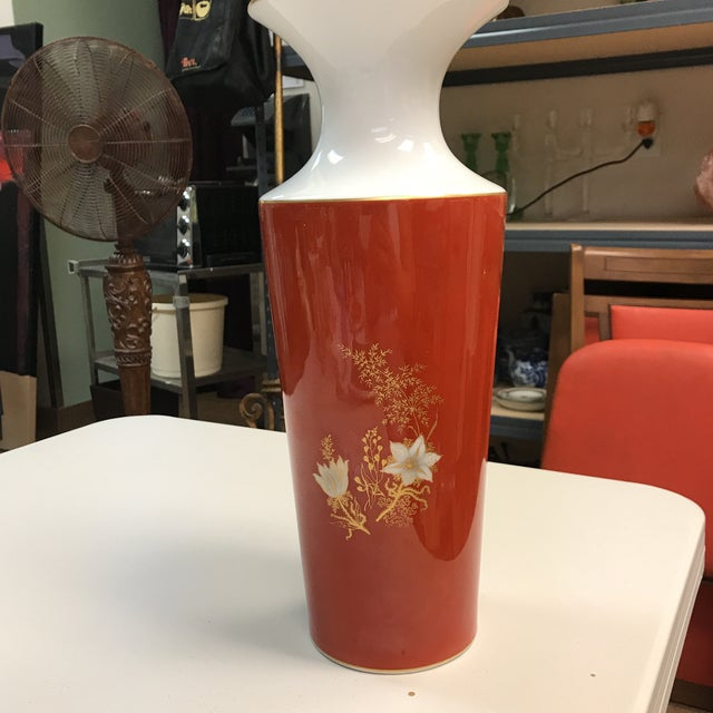 Jaeger & Co. Hand-Painted Vase For Sale - Image 5 of 11