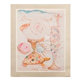 1956 Dali Turtle Original Lithograph For Sale