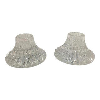 Baccarat Massena Candlestics a Pair For Sale