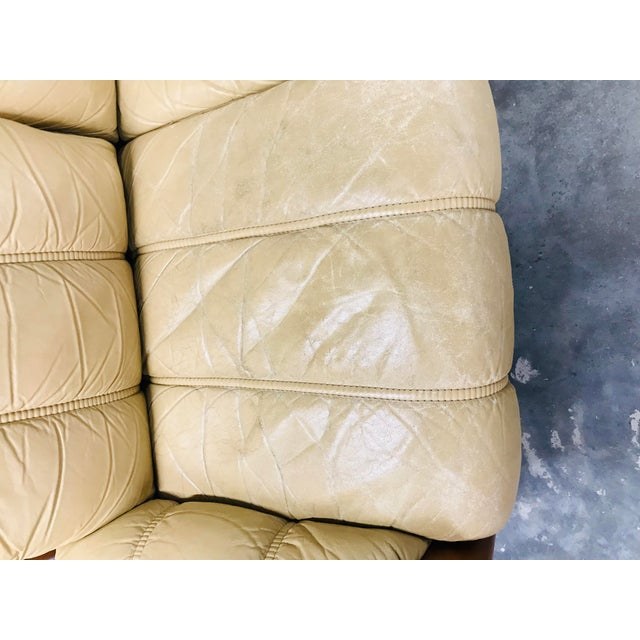 1970s Vintage Ekornes Stressless Montana Solid Teak Loveseat and Sofa - 2 Pieces For Sale In Dallas - Image 6 of 13
