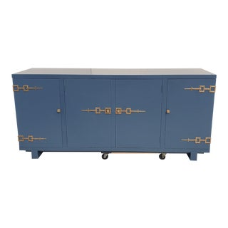 Oscar De La Renta Credenza for Century in the Style of Tommi Patzinguer For Sale