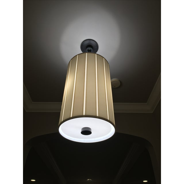 Barbara Barry Barbara Barry Perfect Pleat 2-Light Hanging Shade For Sale - Image 4 of 4