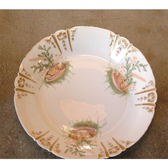 Shell Decorated Dishes - Set of 6 For Sale - Image 4 of 9