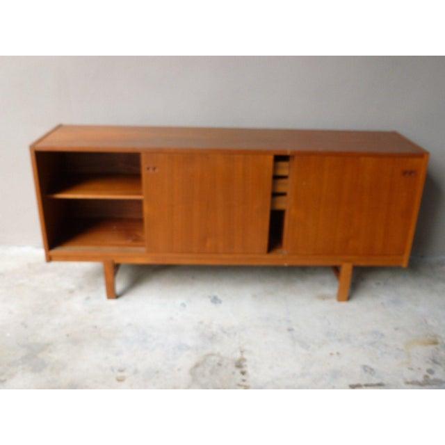 1950s Mid Century Modern Danish Koford Larsen Teak & Rosewood Credenza For Sale - Image 11 of 13