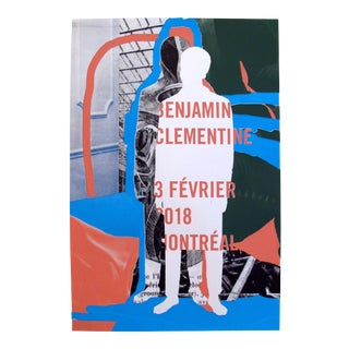 2018 Contemporary Music Poster - Benjamin Clementine For Sale