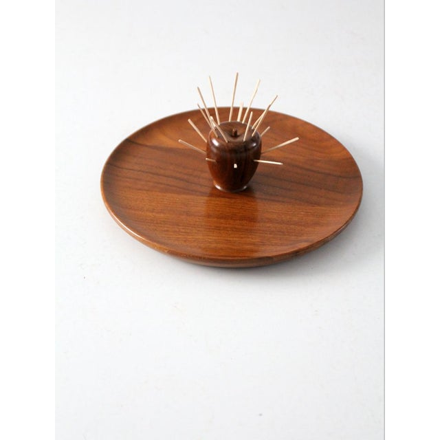 Mid-Century Walnut Serving Tray - Image 4 of 8