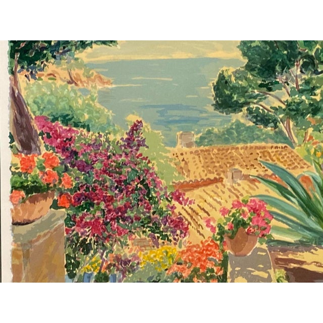 """""""Garden by the Sea II"""" Framed Print by Carlton Penny For Sale - Image 10 of 11"""