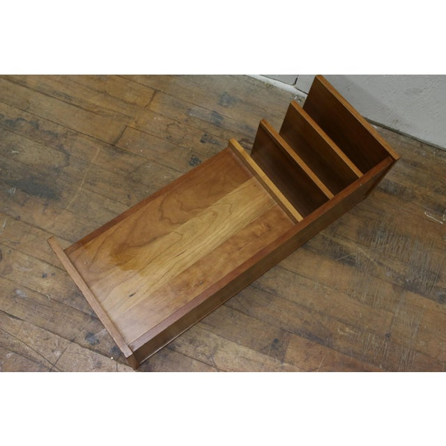1960s Mid Century Pedersen & Hansen Danish Desk Caddy Letter Tray Organizer 1960s For Sale - Image 5 of 8