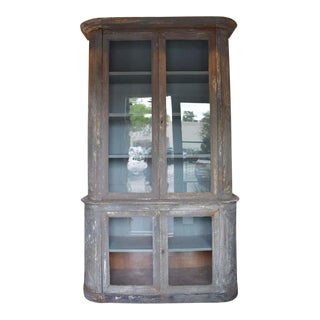 Late 19th Century Swedish Deux Corps Cabinet For Sale