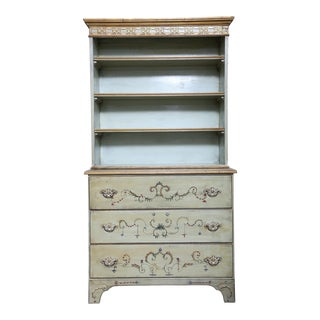 Late 20th Century Painted Cupboard For Sale
