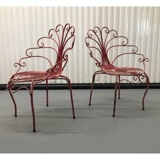 French Mid-Century Peacock Chairs — a Pair Preview