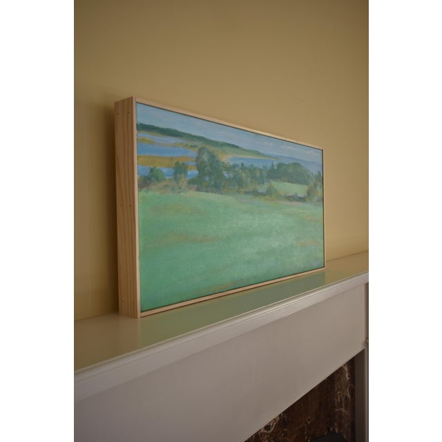 """""""Summer Days"""" Stephen Remick Contemporay Plein Air Painting For Sale In Providence - Image 6 of 10"""