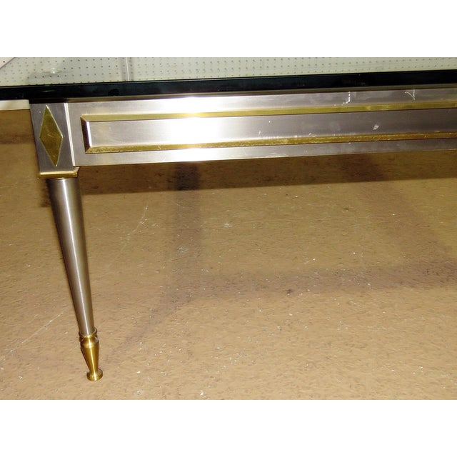 Mid-Century Modern Mid 20th Century Vintage John Vesey Style Coffee Table For Sale - Image 3 of 11