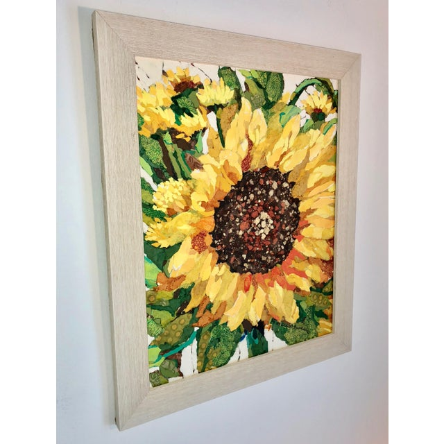 Impressionism Sunflower Field I Collage For Sale - Image 3 of 6