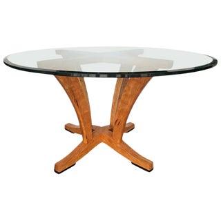 Mid-Century Modern Anthony Kahn Diana Pedestal Table For Sale